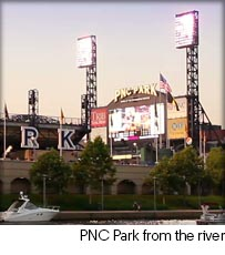 PNC Park from the River